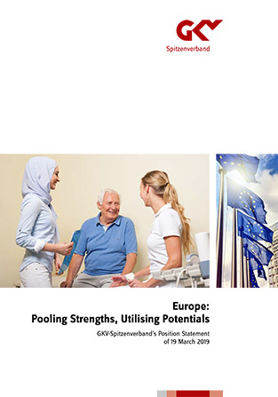 You see the cover of GKV-Spitzenverband's european position statement.